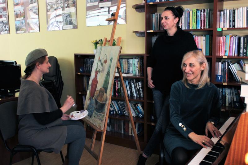 Artyści i bibliotekarze